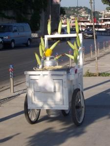 Corn on the Cob wagon