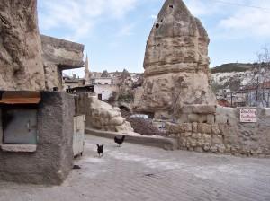 Göreme, in Cappadocia